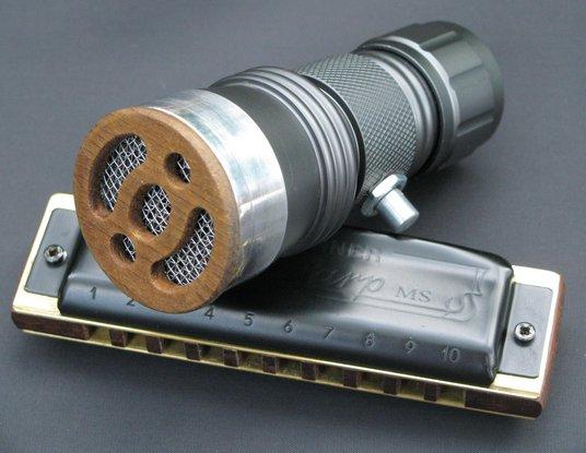 Silverfish Harmonica Microphone