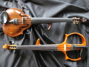 Silverfish Electric Violin