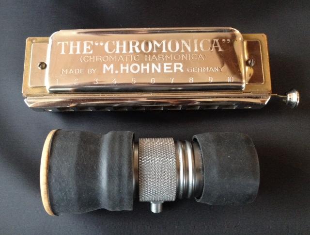 Silverfish Moothie Harmonica Microphone