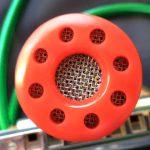 Silverfish harmonica mic - Red Hot
