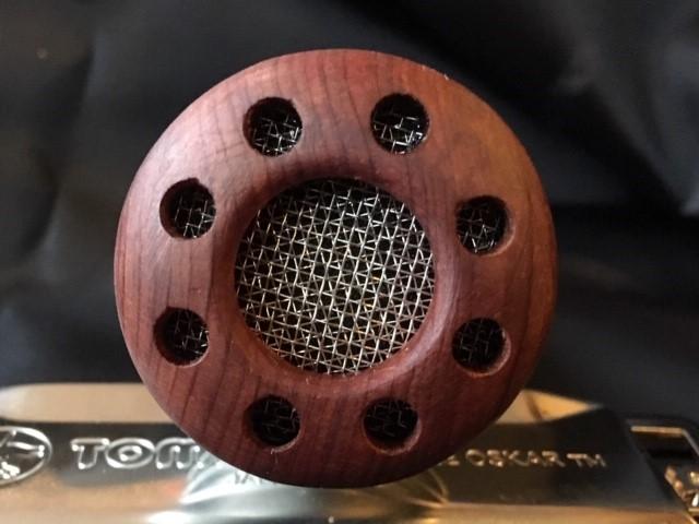 Harmonica Microphone - Wood Fascia