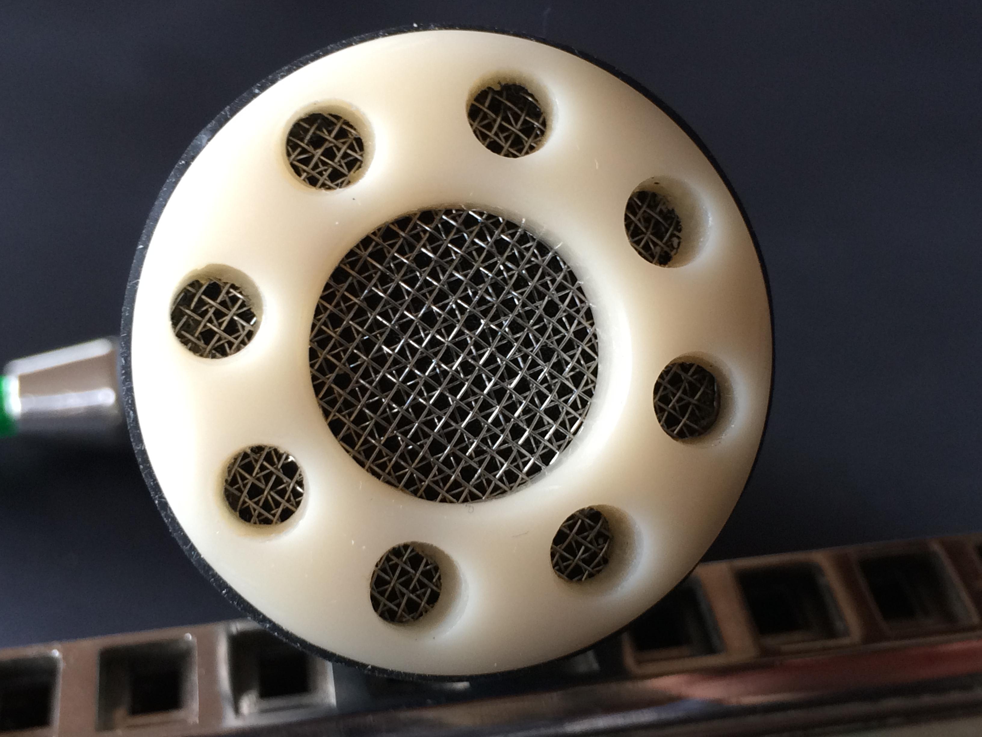 Harmonica Microphone - Ivory