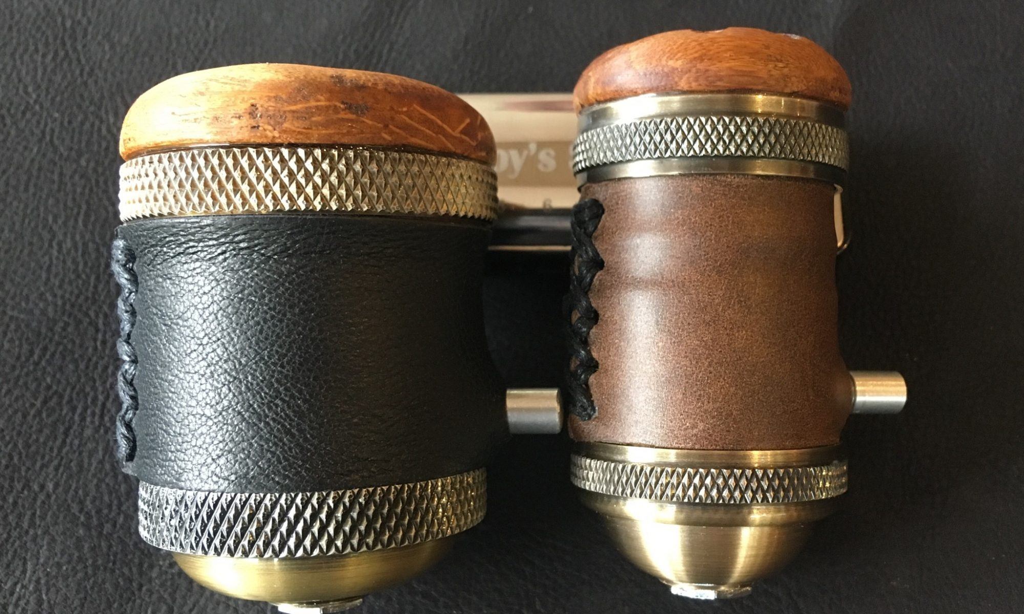 Leather-wrap upgrade