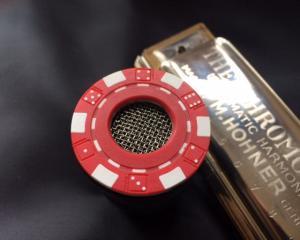 Mini Bullet - red poker-chip