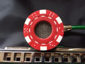 Mini Bullet (red poker/dice motif)