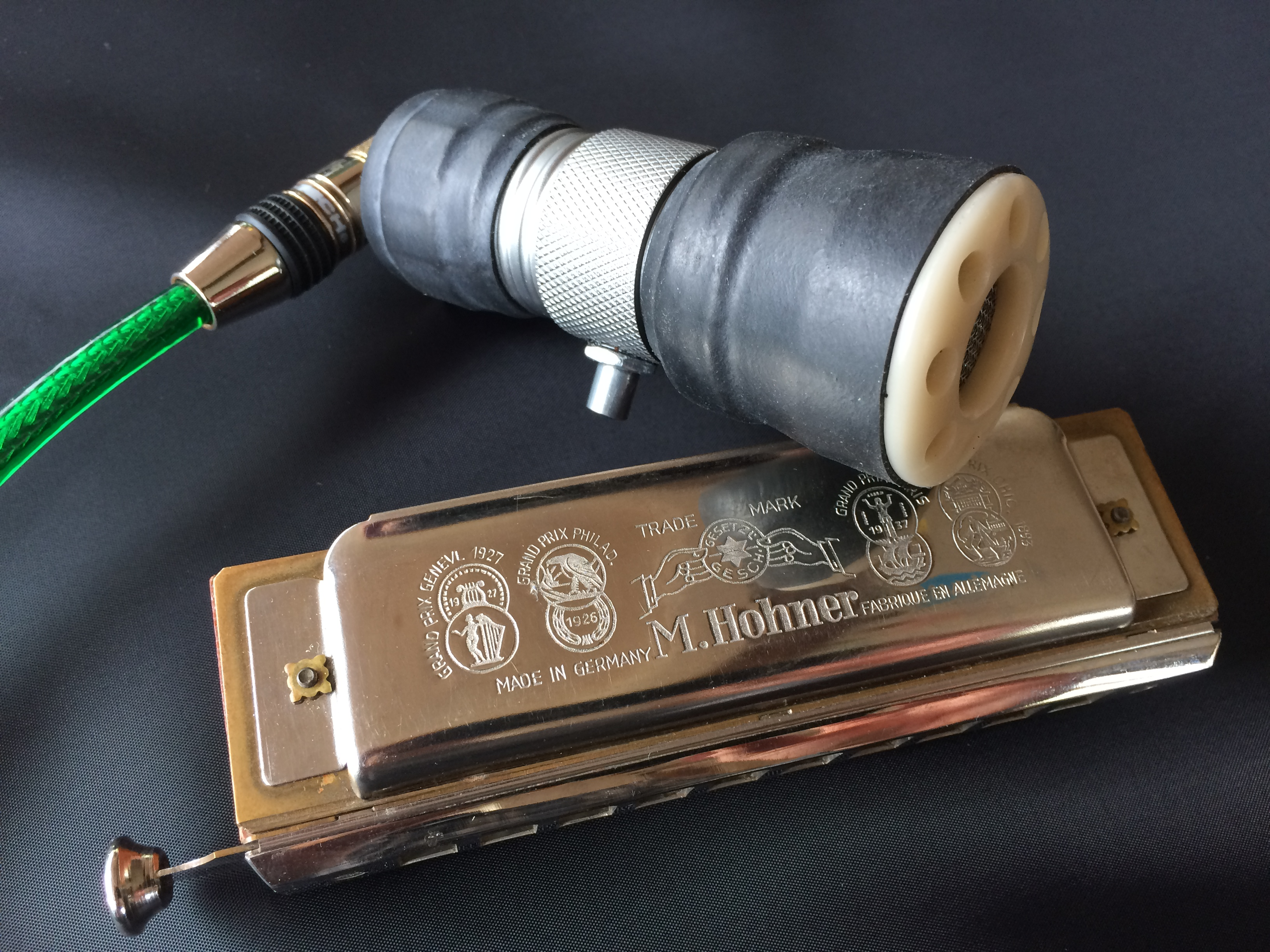 Harmonica Microphone | Silver Bullet - Ivory
