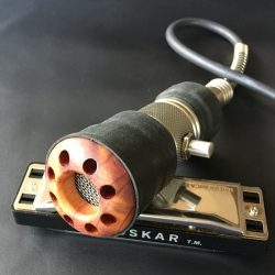 Harmonica Microphone | Wood
