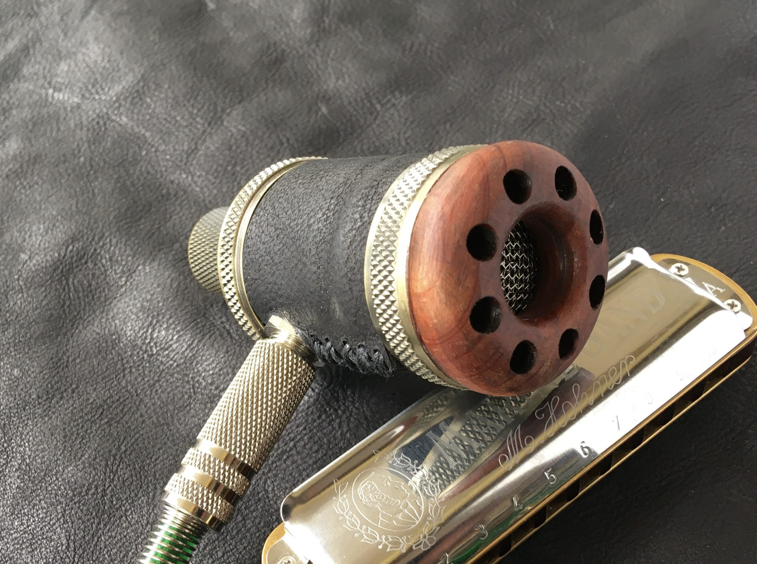 Silver Bullet Dynamic | Standard Mini Harp Mic